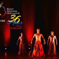 Gala de aniversario en Manabí al celebrar 36 años de trayectoria artística del Ballet